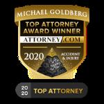 Attorney.com Top Attorney Badge Michael Goldberg