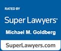 Super Lawyers Badge Michael M. Goldberg